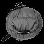 Apidura's bikepacking bag the Backcountry Handlebar Pack 20L Side Detail