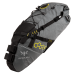 Apidura's bikepacking bag the Backcountry Saddle Pack 17L PIL PerspectiveAlone