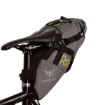 Apidura's bikepacking bag the Backcountry Saddle Pack 11L PerspectiveOnBike