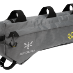 Apidura's bikepacking bag the Backcountry Frame Pack 6L Perspective Alone