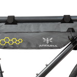 Apidura's bikepacking bag the Backcountry Compact Frame Pack 3L Straight On Bike