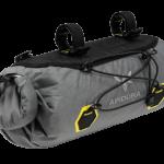 Apidura's bikepacking bag the Backcountry Handlebar Pack 9L Perspective Alone