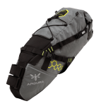 Apidura's bikepacking bag the Backcountry Saddle Pack 14L Perspective Alone