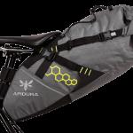 Apidura's bikepacking bag the Backcountry Saddle Pack 14L Straight On Bike
