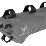 Apidura's bikepacking bag the Backcountry Compact Frame Pack 5.3L Perspective Alone