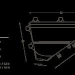 Apidura's bikepacking bag the Backcountry Full Frame Pack 7.5L Scrolling Image