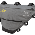 Apidura's bikepacking bag the Backcountry Full Frame Pack 14L Perspective Alone