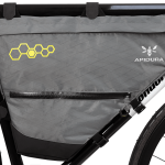 Apidura's bikepacking bag the Backcountry Full Frame Pack 14L Straight On Bike