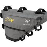 Apidura's bikepacking bag the Backcountry Full Frame Pack 7.5L Perspective Alone