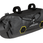 Apidura's bikepacking bag the Expedition Handlebar Pack 9L Perspective Alone