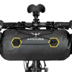 Apidura's bikepacking bag the Expedition Handlebar Pack 9L Straight On Bike