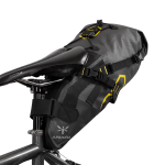 Apidura's bikepacking bag the Expedition Saddle Pack 9L Perspective On Bike