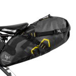 Apidura's bikepacking bag the Expedition Saddle Pack 9L Straight On Bike