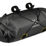 Apidura's bikepacking bag the Expedition Handlebar Pack 14L Perspective Alone