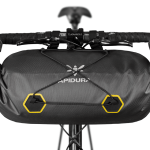Apidura's bikepacking bag the Expedition Handlebar Pack 14L Straight On Bike