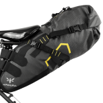 Apidura's bikepacking bag the Expedition Saddle Pack 14L Straight On Bike