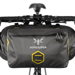Apidura's bikepacking bag the Expedition Accessory Pocket 4.5L Straight On Bike
