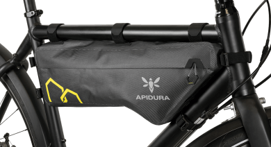 Apidura's bikepacking bag the Expedition Compact Frame Pack 5.3L MWL 1 Bike