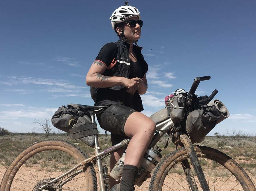 Sarah Hammond, Race to the Rock 2016 | Apidura