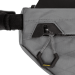 Apidura's bikepacking bag the Backcountry Compact Frame Pack Buckle Detail