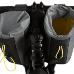 Apidura's bikepacking bag the Backcountry Food Pouch 2 sizes Shot