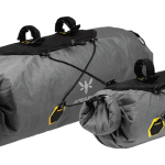Apidura's bikepacking bag the Backcountry Handlebar Pack 20L and 9L