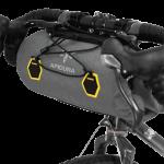 Apidura's bikepacking bag the Backcountry Handlebar Pack Profile Shot