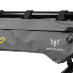 Apidura's bikepacking bag the Backcountry Frame Pack Profile Shot