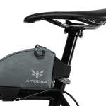 Apidura's bikepacking bag the Backcountry Top Tube Pack 0.8L Profile Shot