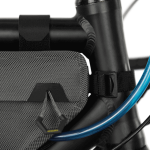 Apidura's bikepacking bag the Expedition Compact Frame Pack Hydration Tube