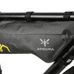 Apidura's bikepacking bag the Expedition Compact Frame Pack Profile Shot