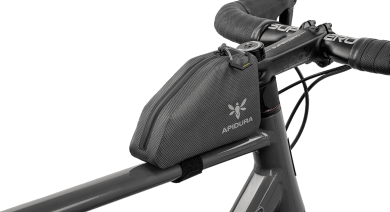 Apidura's Bikepacking Top Tube Pack: Waterproof, Lightweight and Durable