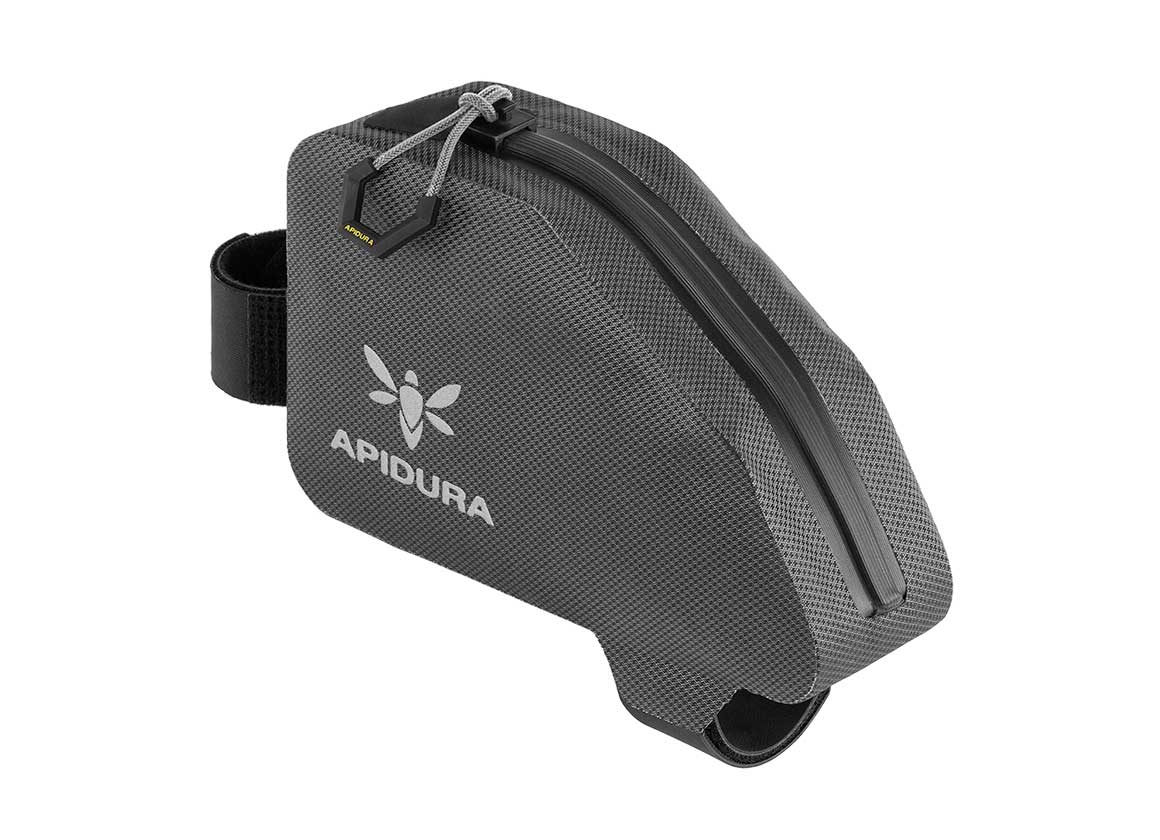 Apidura Waterproof Top Tube Bag, The Expedition Top Tube Pack 0.5L - Profile Picture Bag Alone | Apidura