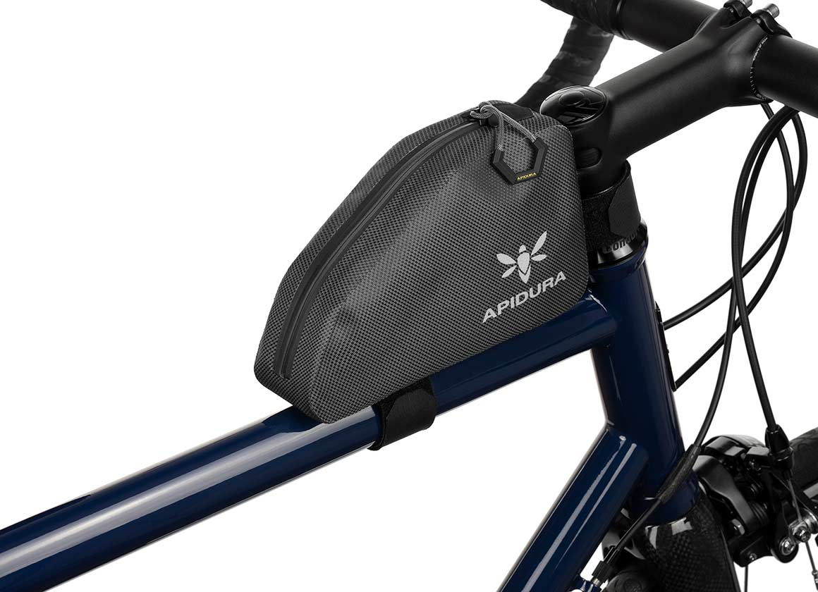 Apidura Waterproof Top Tube Bag, The Expedition Top Tube Pack 0.5L - Profile Picture
