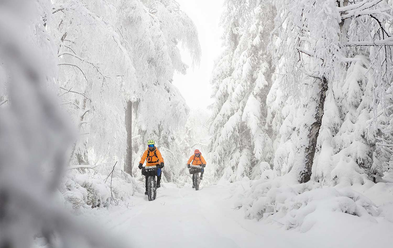 advice for biking in winter