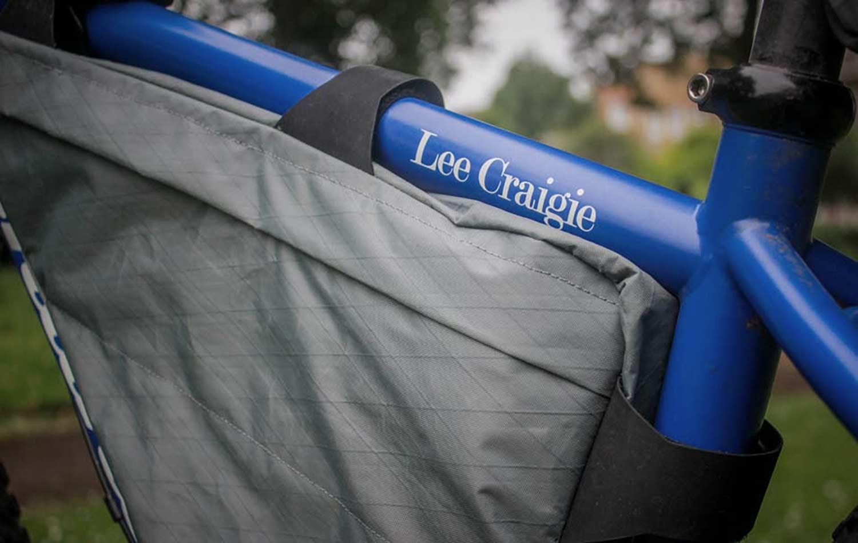apidura backcountry full frame pack on lee craigie bike for race across america
