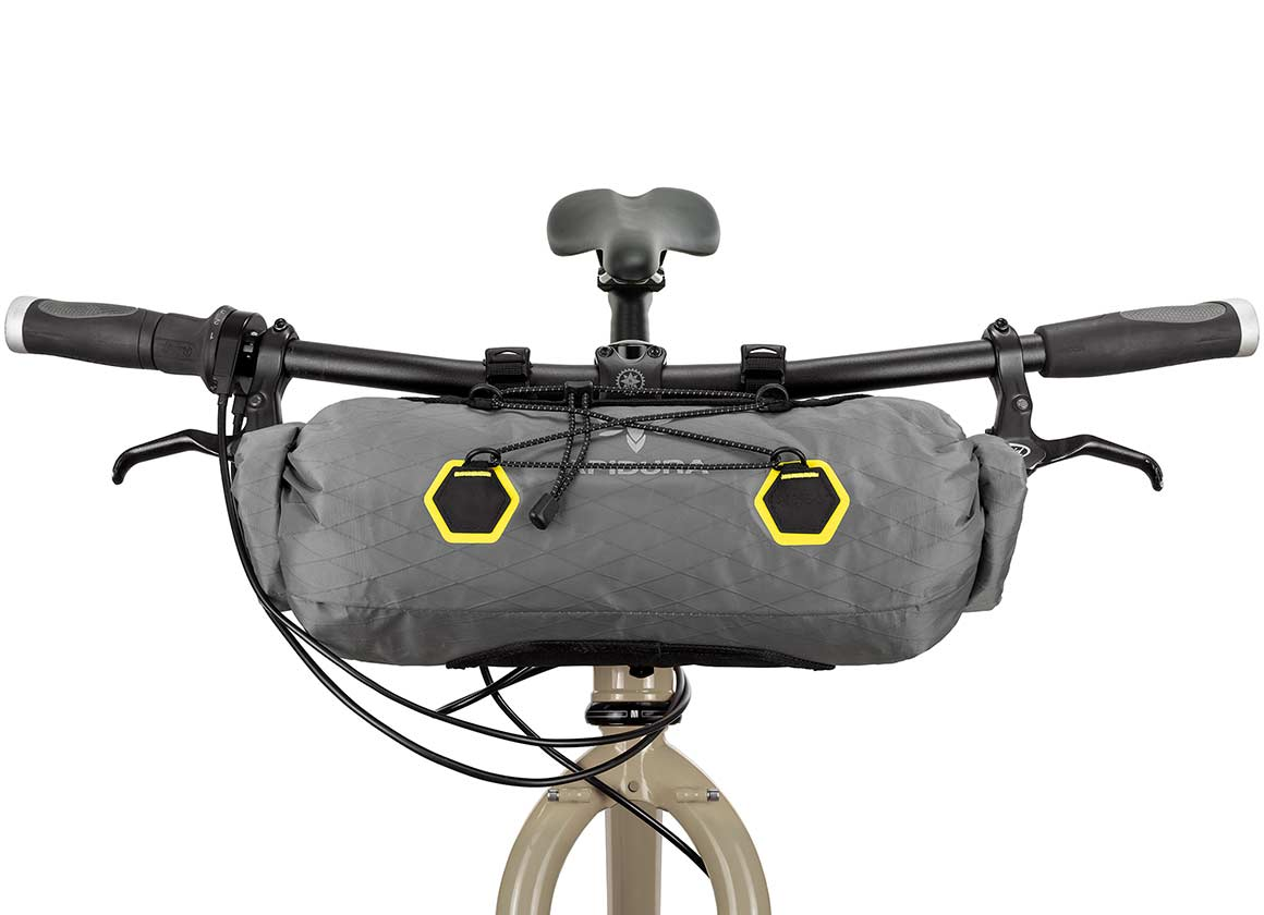 apidura bikepacking bag backcountry handle bar pack off-road