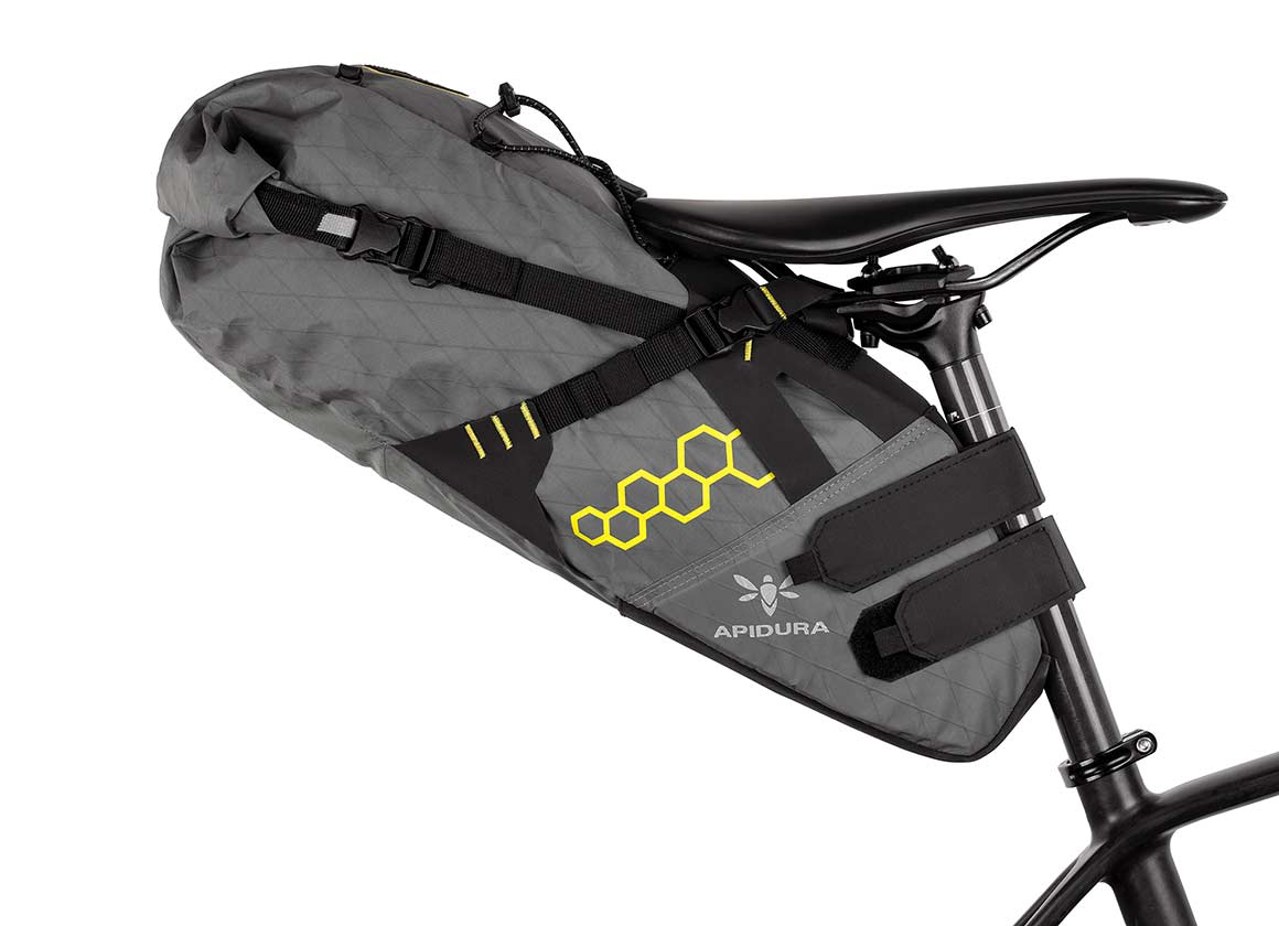 Holds All Your Essential Cycling Accessories BC Bicycle Company Bicycle Saddle Bag Large Under Seat Pack for Road and MTB Bikes