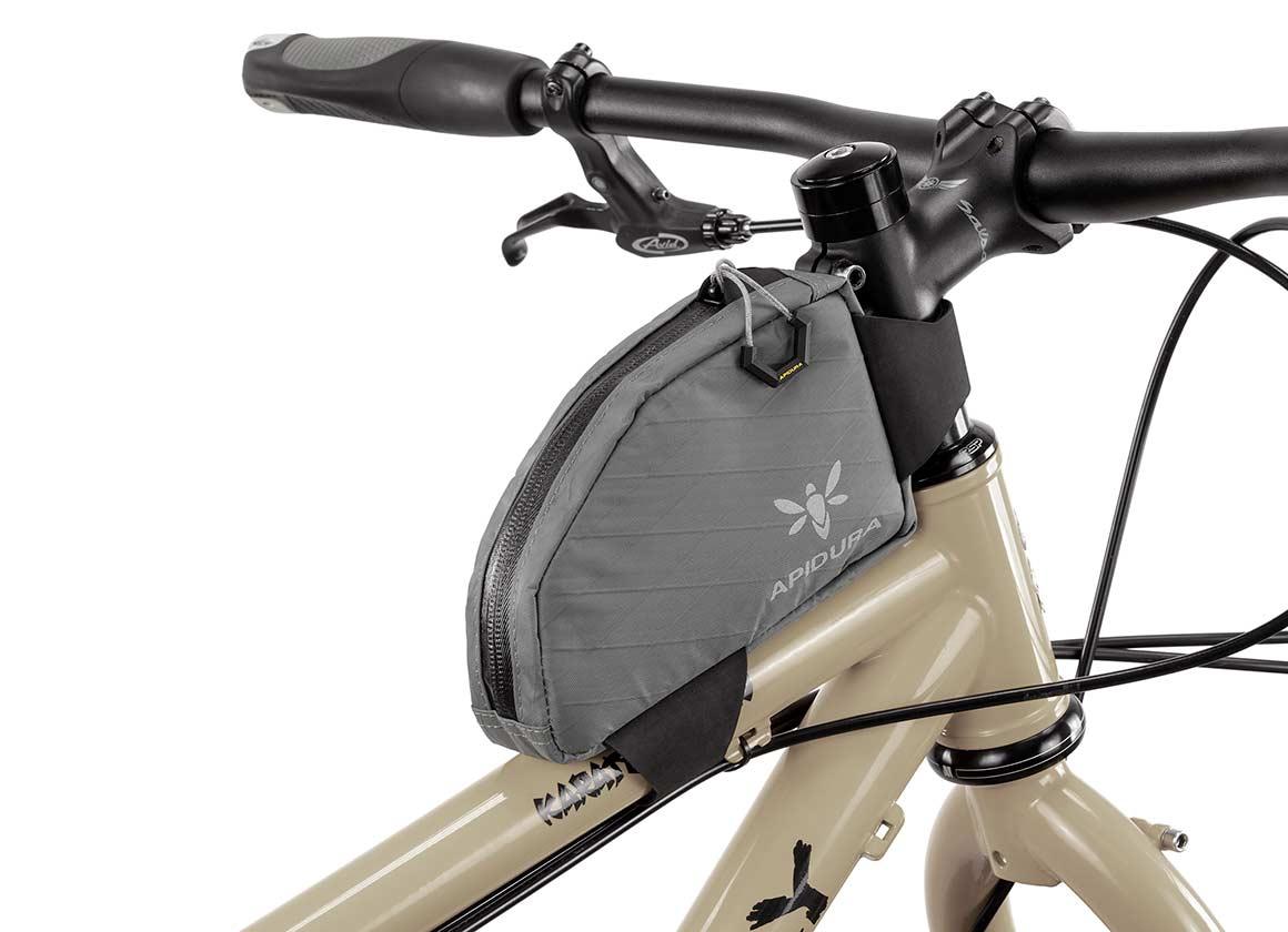 apidura bikepacking bag backcountry top tube pack off-road