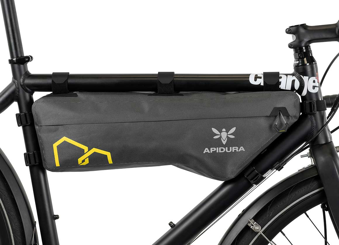 apidura bikepacking bag expedition compact frame pack waterproof