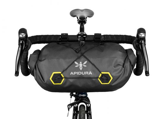 apidura bikepacking bag expedition handle bar pack waterproof