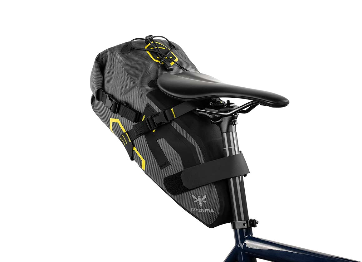 apidura bikepacking bag expedition saddle pack waterproof