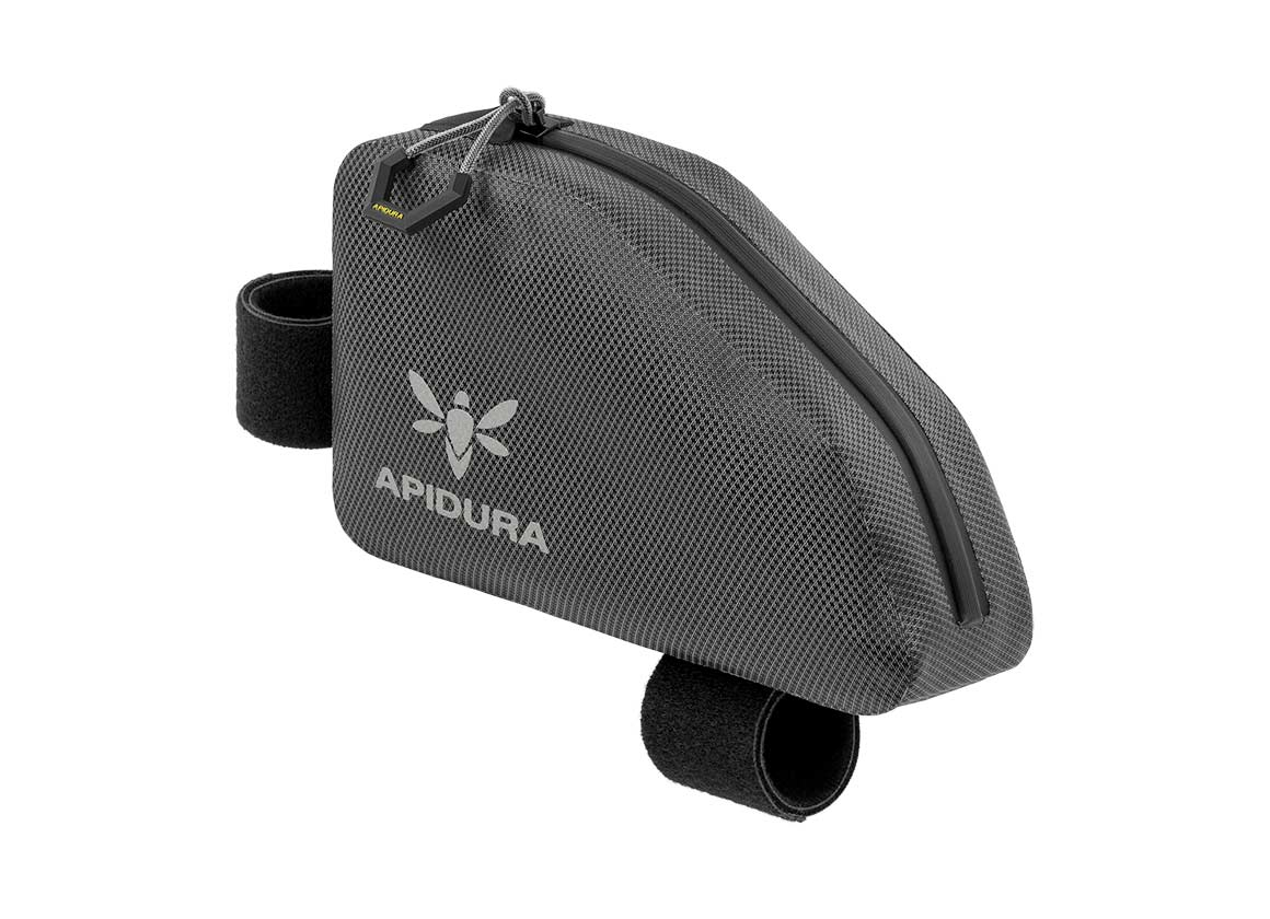 apidura bikepacking bag expedition top tube pack waterproof