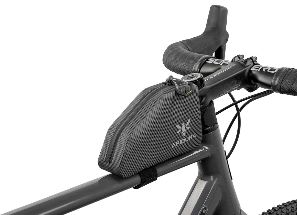 apidura bikepacking bag expedition top tube pack waterproof