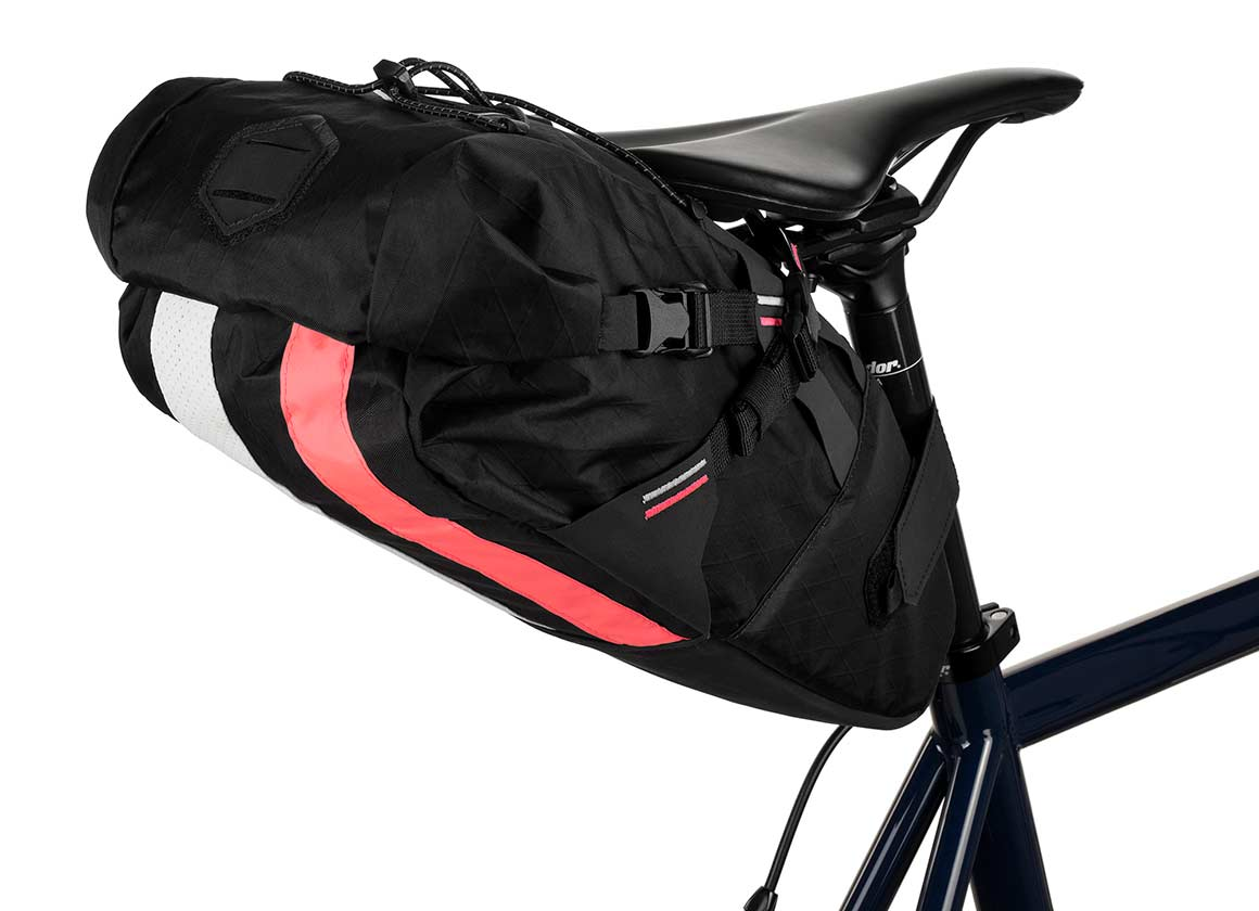 apidura bikepacking bag rapha saddle pack off -road