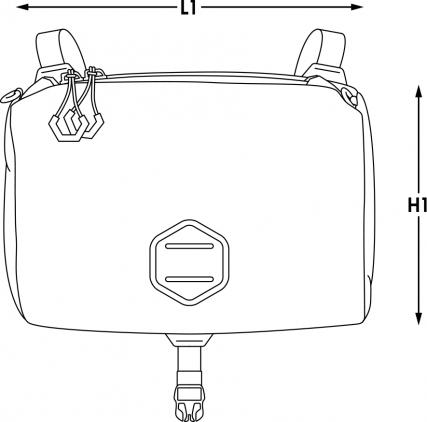 apidura bikepacking bag backcountry accessory pocket measures