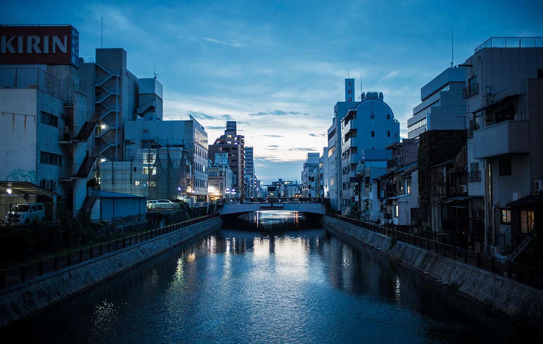 beautiful landscape on japanese odyssey