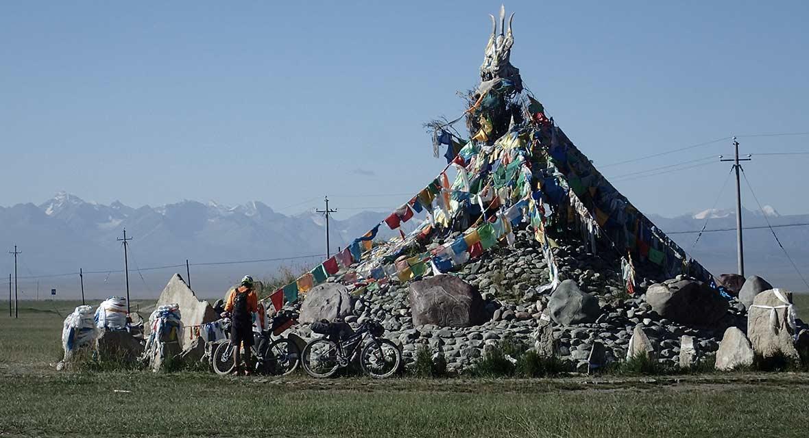 Between a Rock and a Hot Place Bikepacking Xinjiang