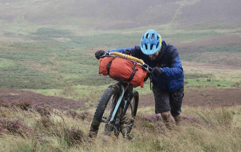 bikepacking in scotland is an adventure