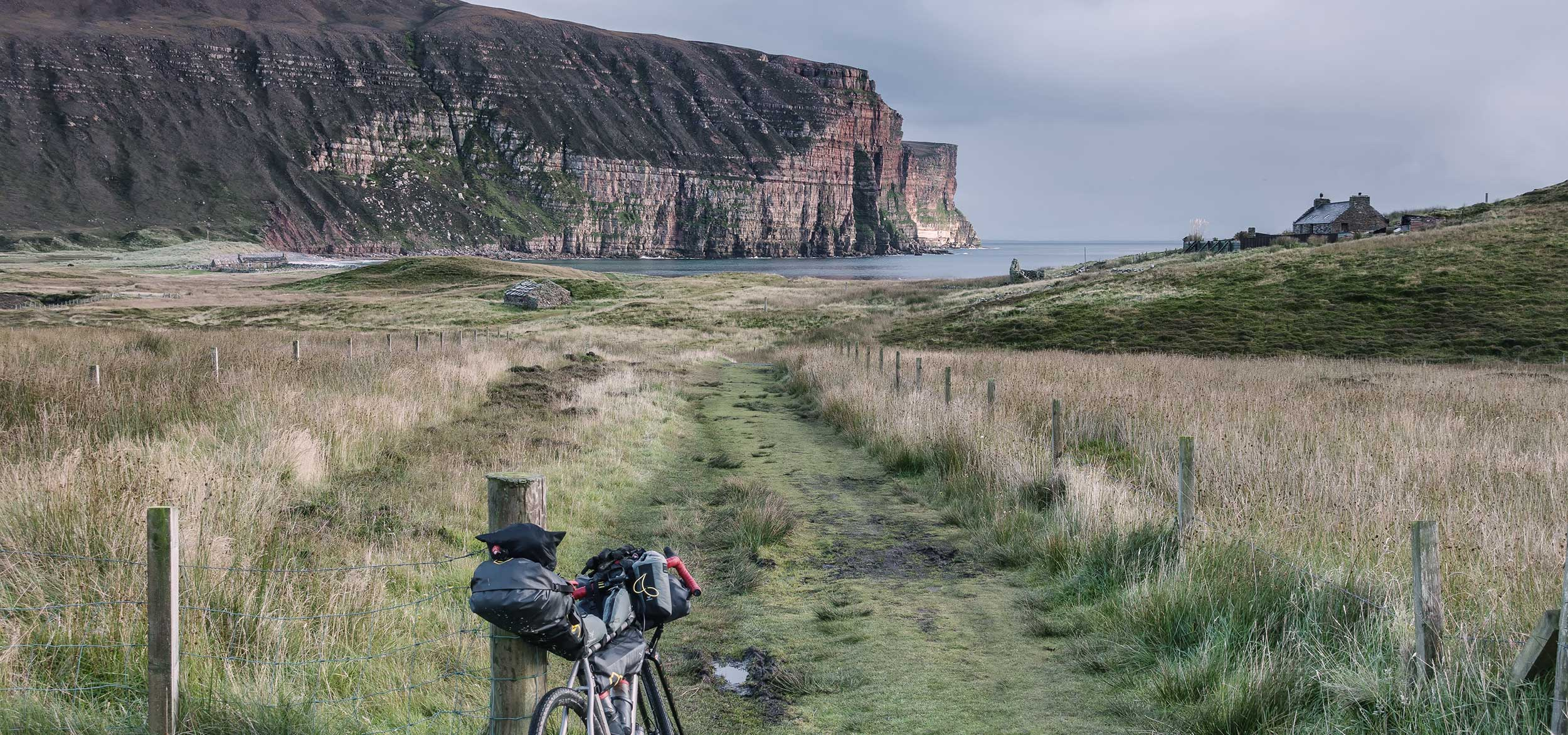 bikepacking the northern isles scotland bike